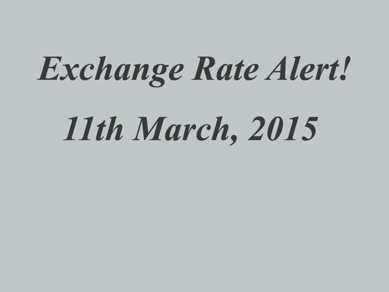 March 2015 - Currency Alert!