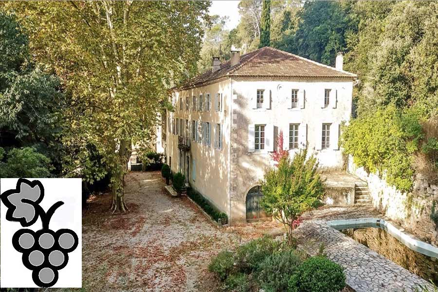 Beautiful 19th C. Wine Estate with Bastide for sale