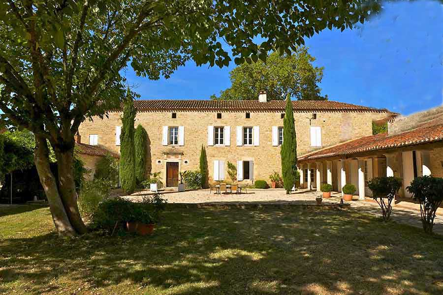 18th C. Manor and Vineyard for sale in AOC Cahors