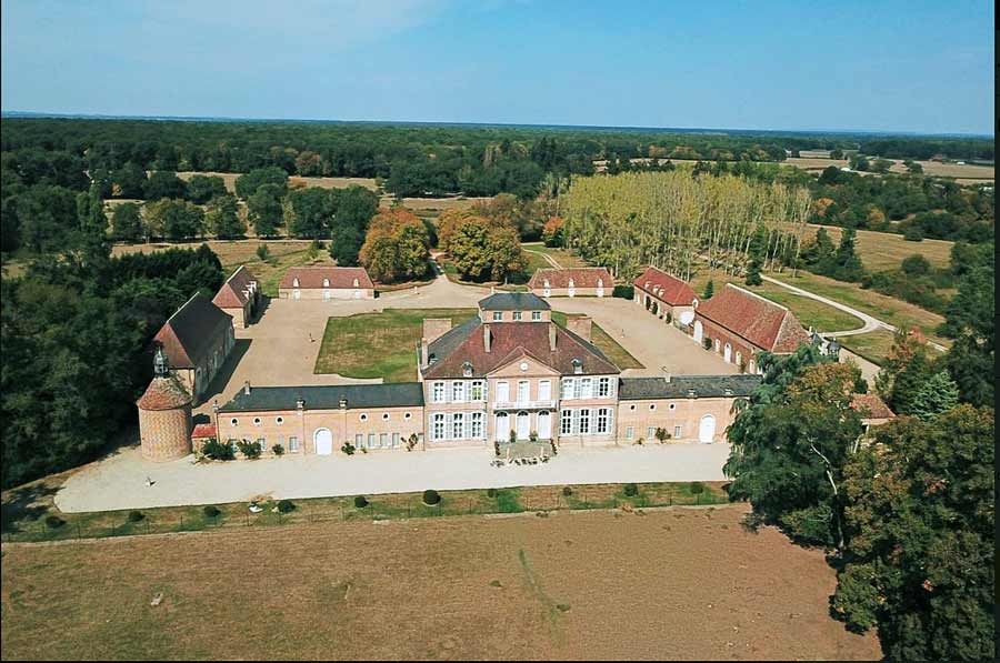Rare Listed 18th C Château for sale in the Bourbonnais.