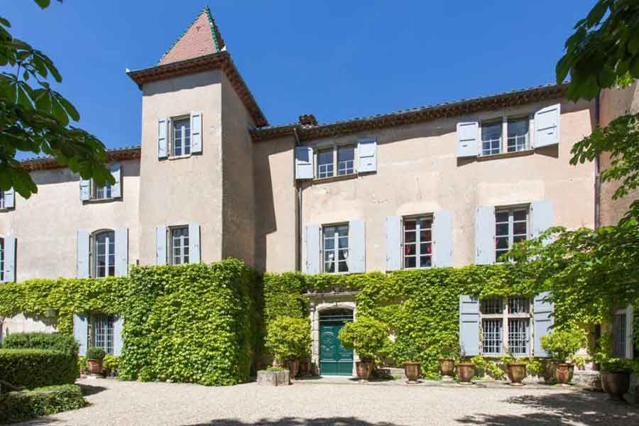 Authentic 16th C. village Chateau  for sale nr Anduze