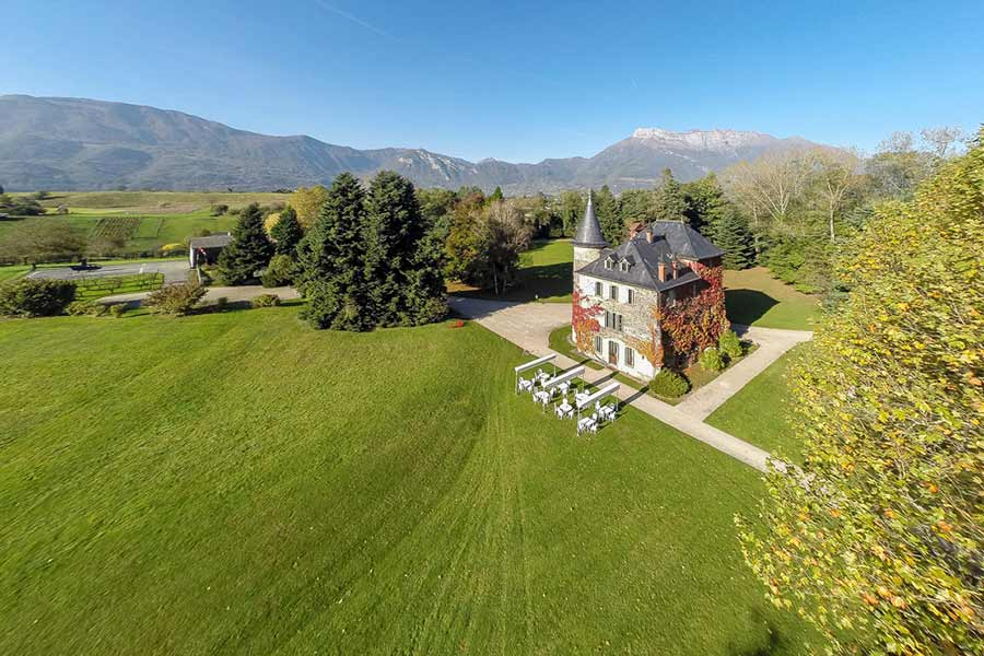 Magnificent 18th C. Château for sale near Chambery