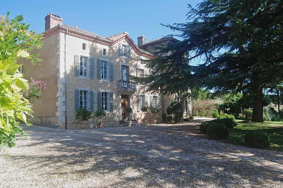 Exquisite 18th Century Chateau with views of Pyrenees.