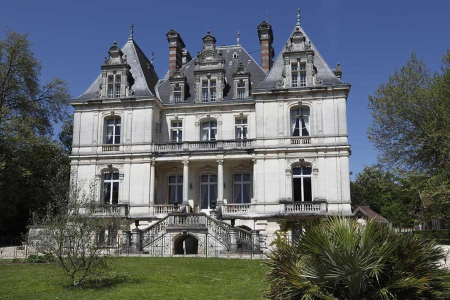 Unique 19th C Renaissance-style listed Chateau for sale