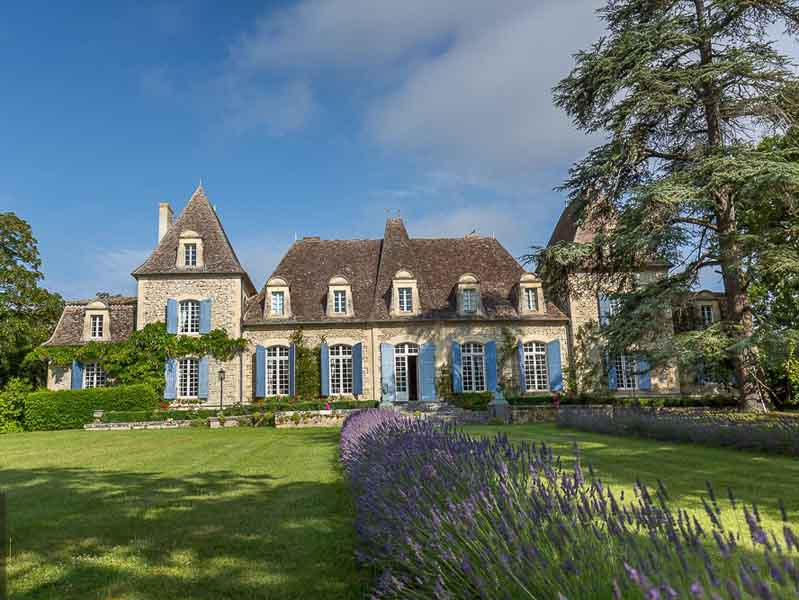 Outstanding 17/19th C. Chateau for sale - idyllic setting.