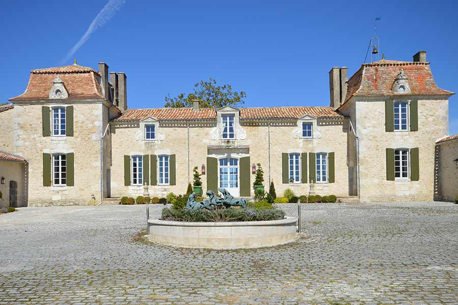 Turnkey 18th C. Chateau for sale with Hobby Vineyard