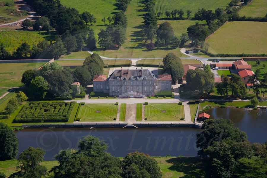 Attractive listed 18th C. restored Chateau for sale