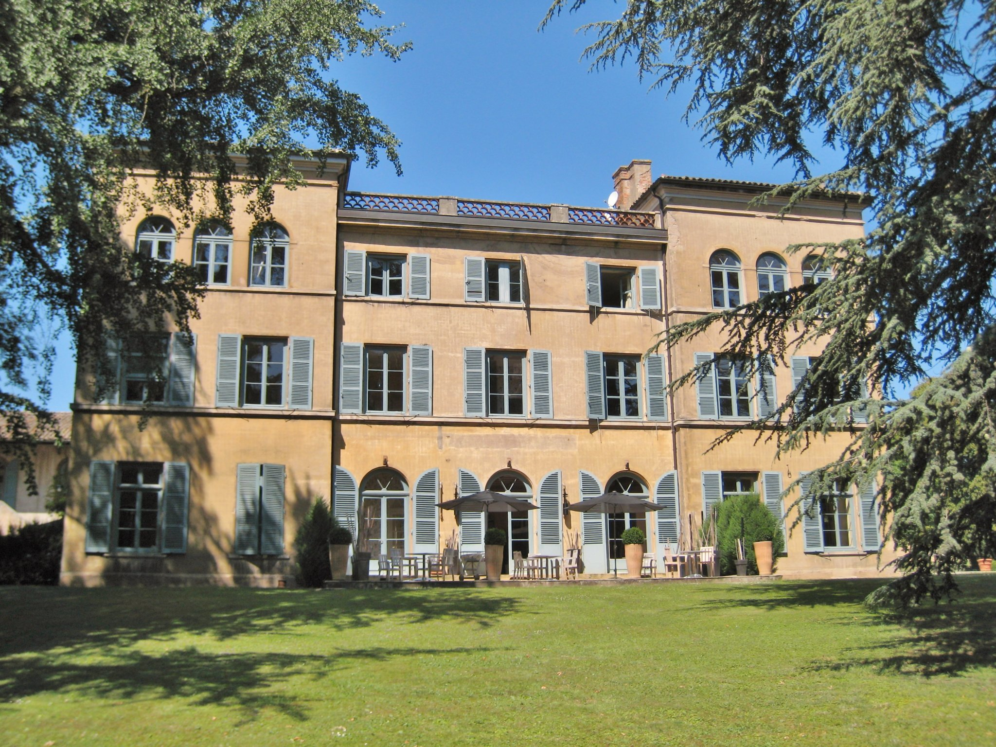 19th C Tuscan style chateau for sale