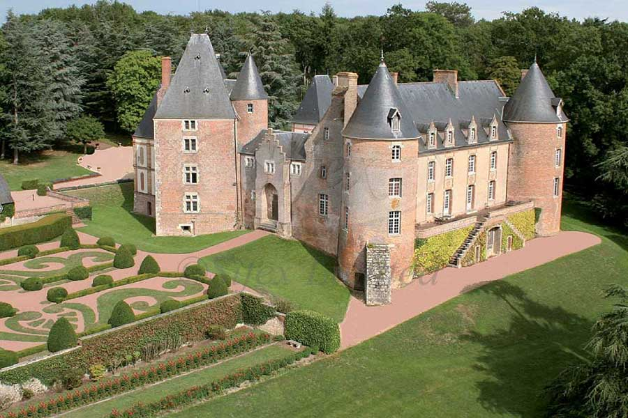 Stunning 15th/17th/18th C. Chateau for sale