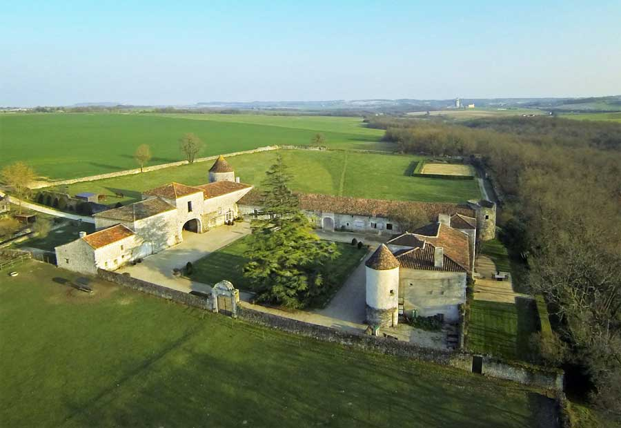 Atmospheric 15th C Fortified Castle for sale