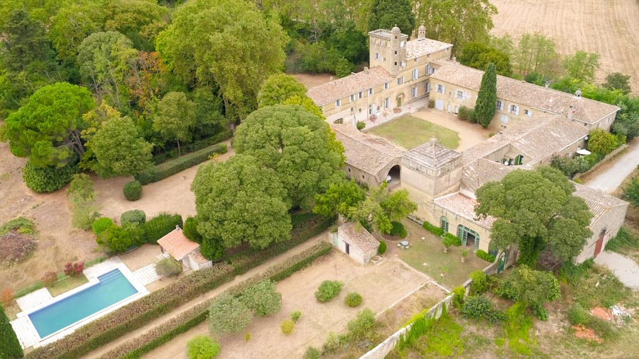 17/18th C Listed Chateau for sale  near Montpellier