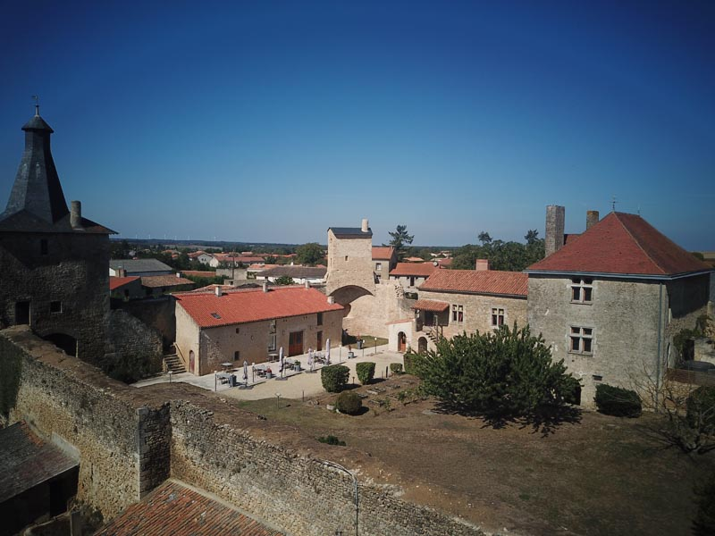 Authentic 11th- 15th C. Listed chateau for sale