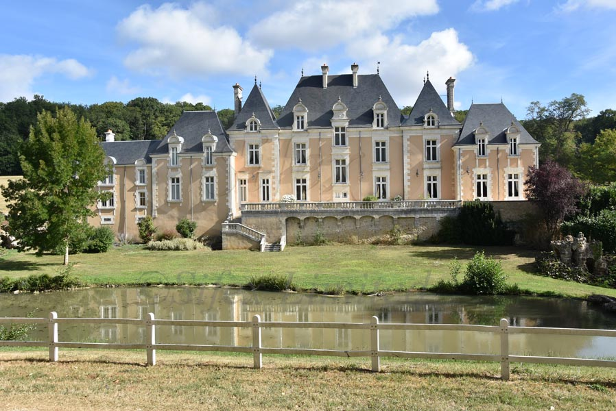 Magnificent 19th C chateau for sale near Poitiers