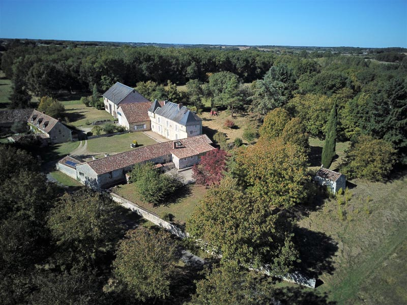 16th/17th C Chateau to renovate for sale