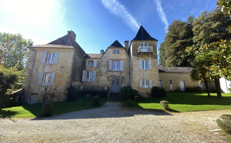 Charming renovated 17C Chateau for sale